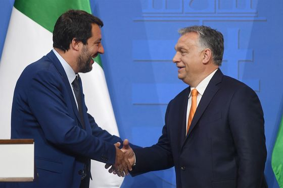 Hungary's Orban Vows Closer Salvini Ties But Keeps Options Open