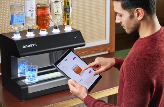 The Robot Bartender That's Great at Parties