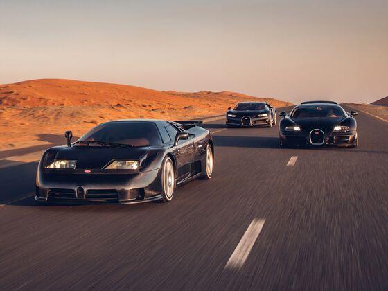 VW Hands Control of Bugatti to Croatian EV Maker and Porsche