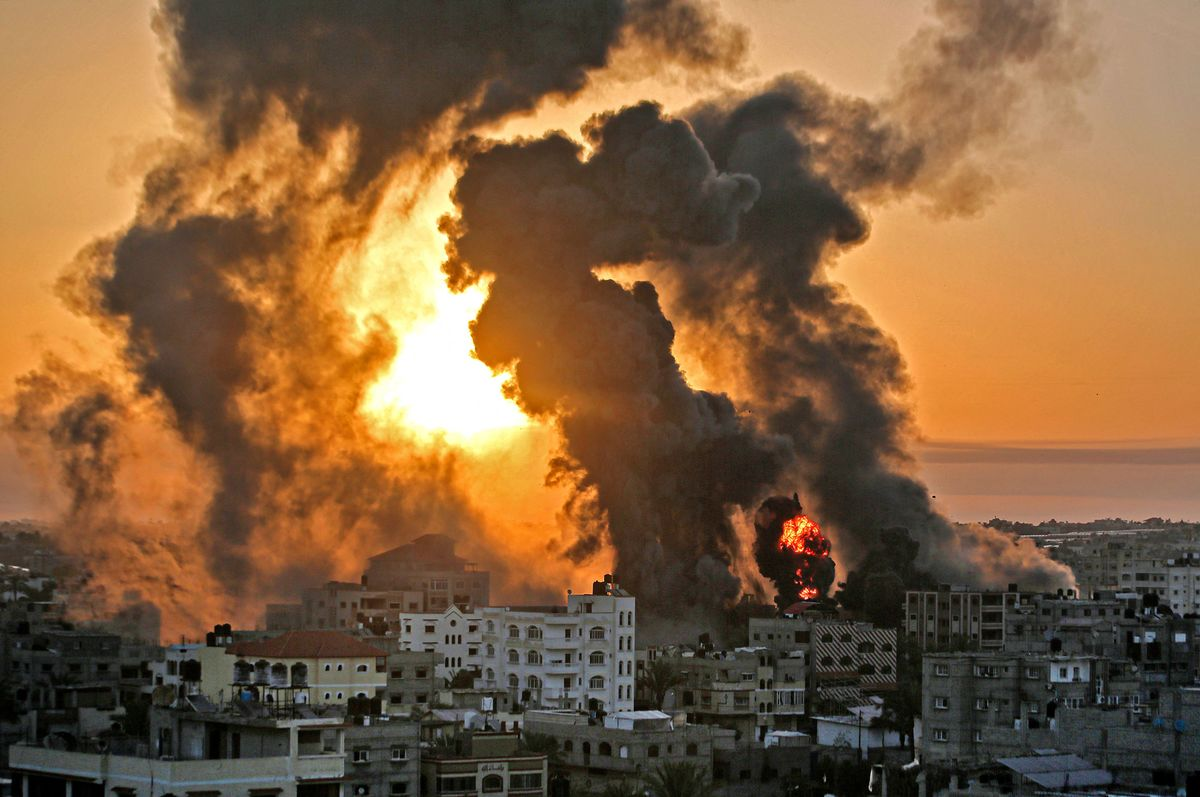 Gaza Violence: Diplomatic Push to End Israel-Gaza Fighting Gains Momentum -  Bloomberg