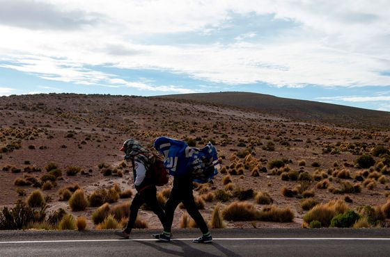 Shunned Venezuelan Immigrants Get a Lifeline From ChileanStart-Up