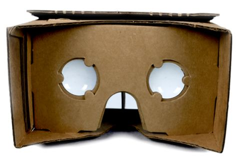 Google's DIY Cardboard-and-Smartphone Virtual Reality Headset