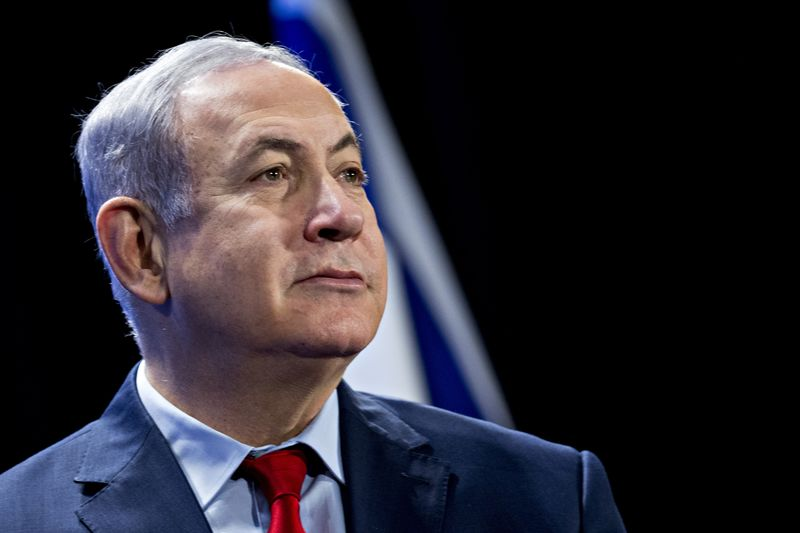 Israel's Prime Minister Benjamin Netanyahu Speaks To Economic Club Of Washington