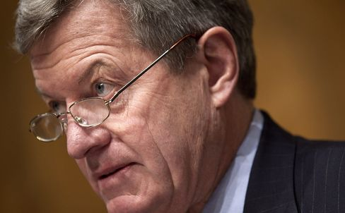 U.S. Senate Finance Committee Chairman Max Baucus