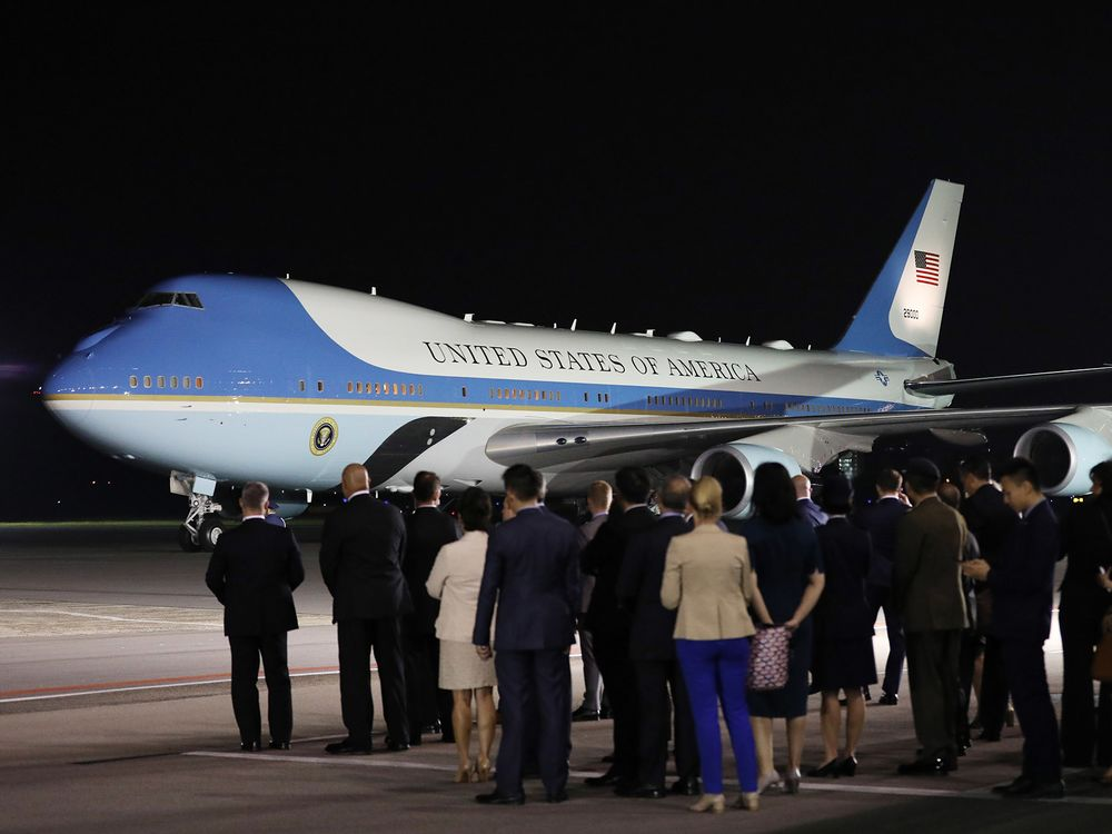 Trump Wants Air Force One Painted Red, White and Blue