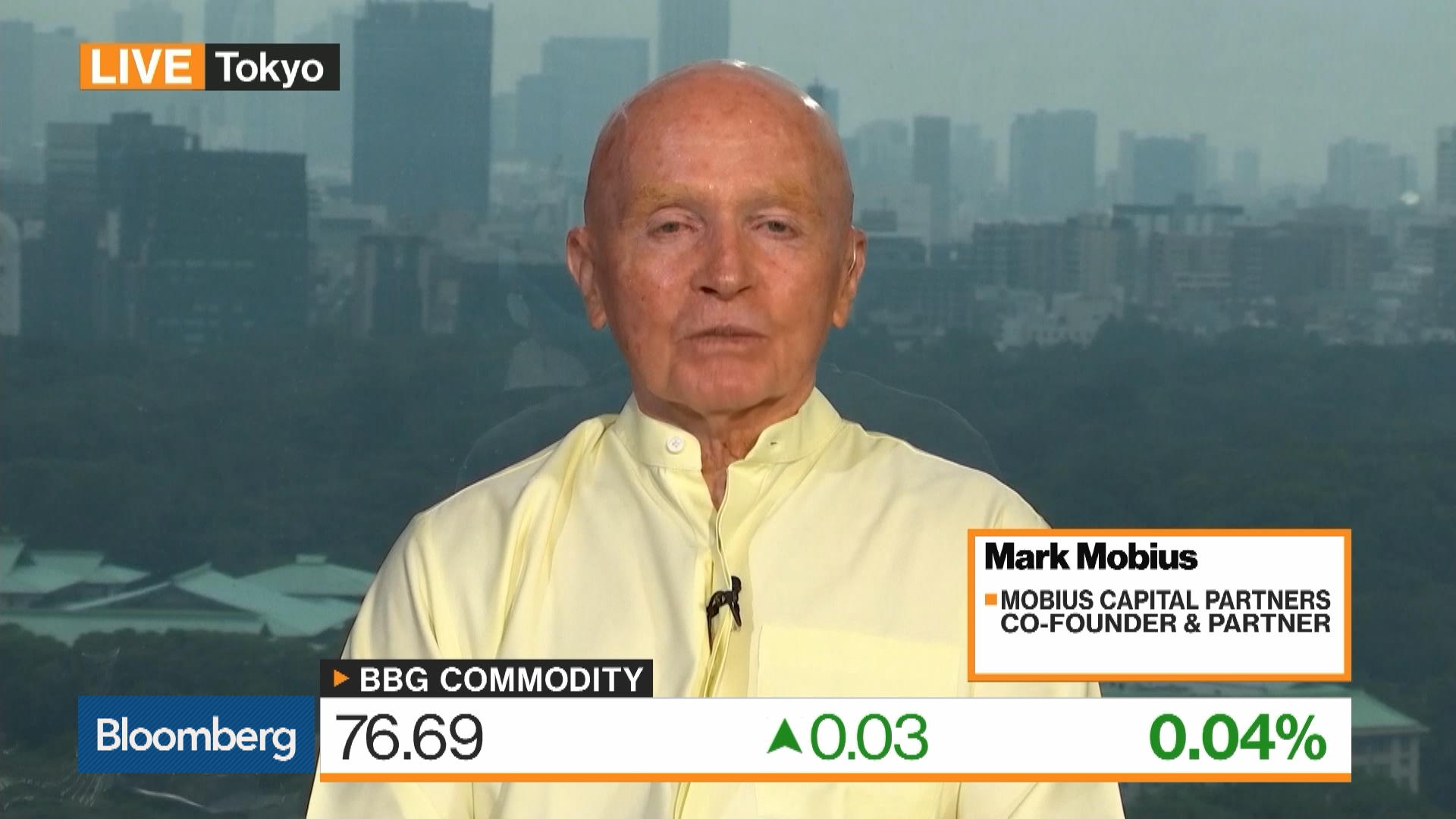 Mobius: Should Be Buying Gold on Any Level