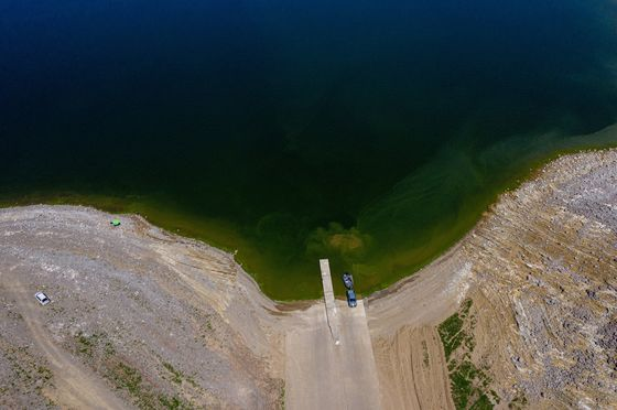 California's Epic Drought Is Parching Reservoirs and Worrying Farmers