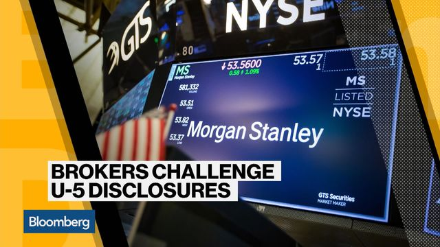 Morgan Stanley Fight Exposes How Firms Smear Exiting