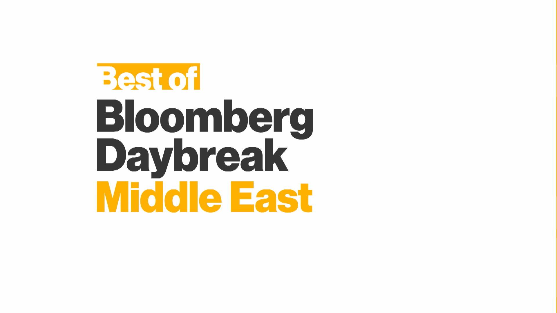 'Best of Bloomberg Daybreak: Middle East' Full Show (5/23/2019)