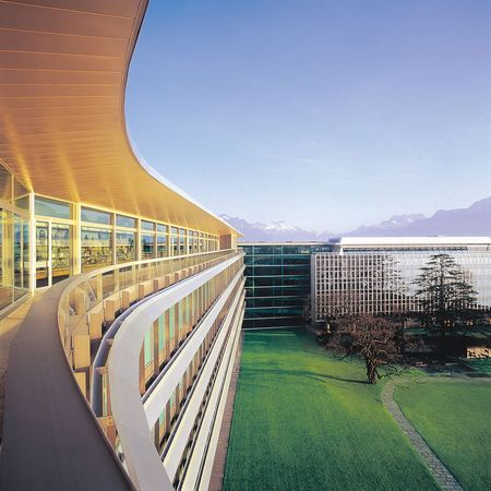 Nestlé headquarters in Vevey, Switzerland.
