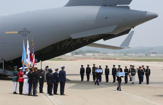 North Korea Returns Some U.S. War Dead in Boost for Talks