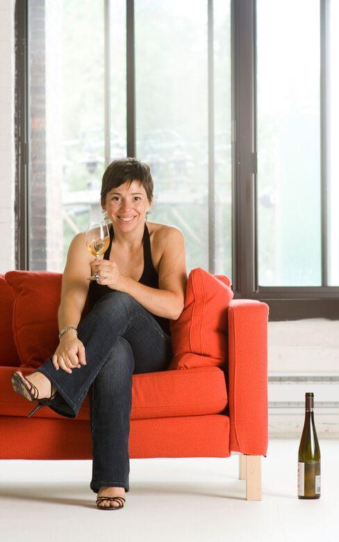 Maison Boulud wine consultant Élyse Lambert.