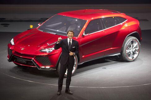 Lamborghini SpA CEO Stephan Winkelmann