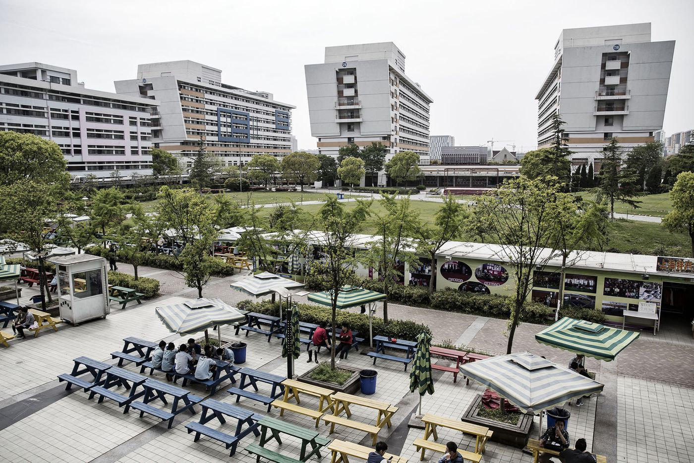 A view of a Pegatron campus in Shanghai, China on Friday, 15 April 2016. Photographer: Qilai Shen / Bloomberg