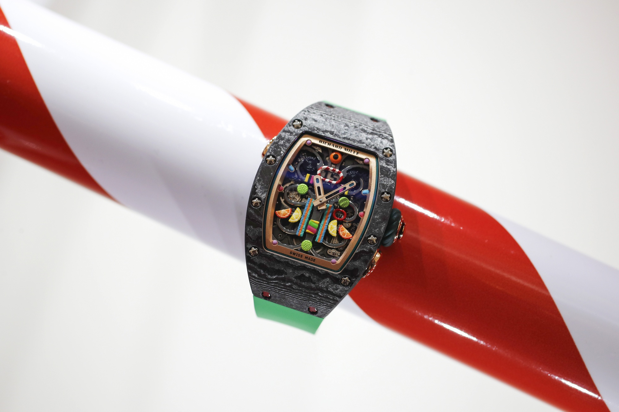 A Macho Swiss Watchmaker Gets In Touch With Its Feminine Side Bloomberg