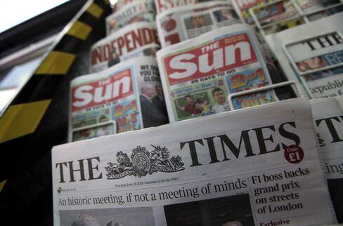 News Corp. 32% Drop in Publishing Profit Tests Murdoch Strategy