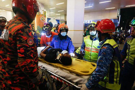 Underground Train Collision Leaves 200 Injured in Kuala Lumpur