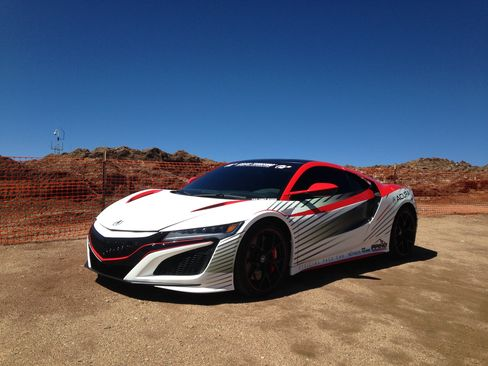 The original Acura NSX debuted in 1989 as model-year 1990. It was discontinued in 2005. Here it makes a comeback.