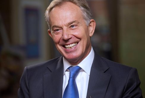 Howard Buffett and Tony Blair Speak At The World Food Prize Symposium