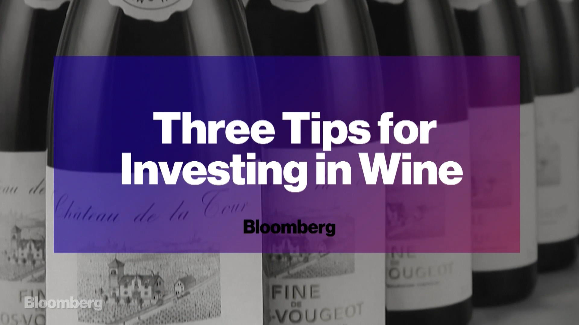 Investing in Fine Wine Is More Lucrative Than Ever - Bloomberg