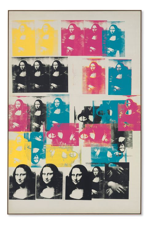 "Andy Warhol's ""Colored Mona Lisa"" sold for $56.2 million"