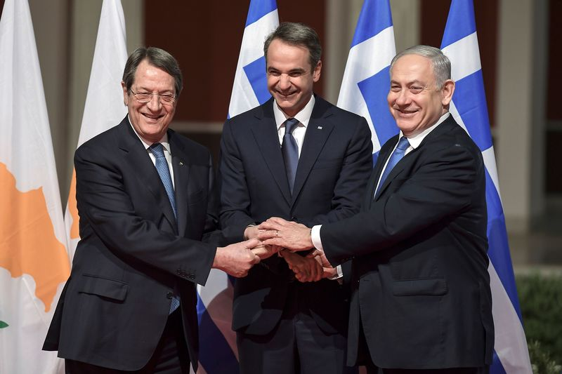 GREECE-ISRAEL-CYPRUS-POLITICS-ENERGY-DIPLOMACY