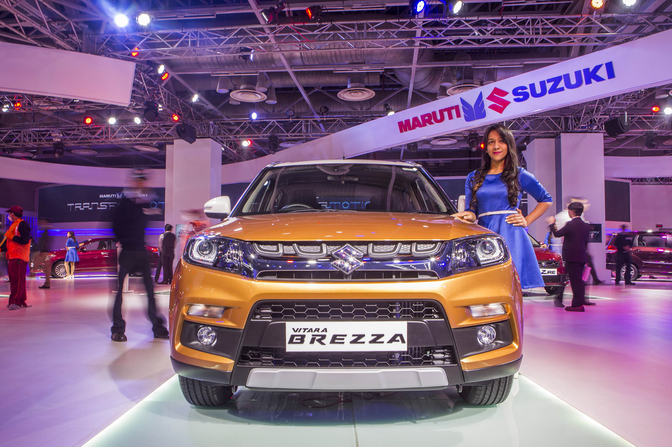 Maruti Compact Model Leads SUV Sales in India as Demand