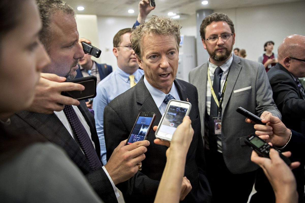 Rand Paul Seeks Changes to Obamacare Repeal That Could Kill It