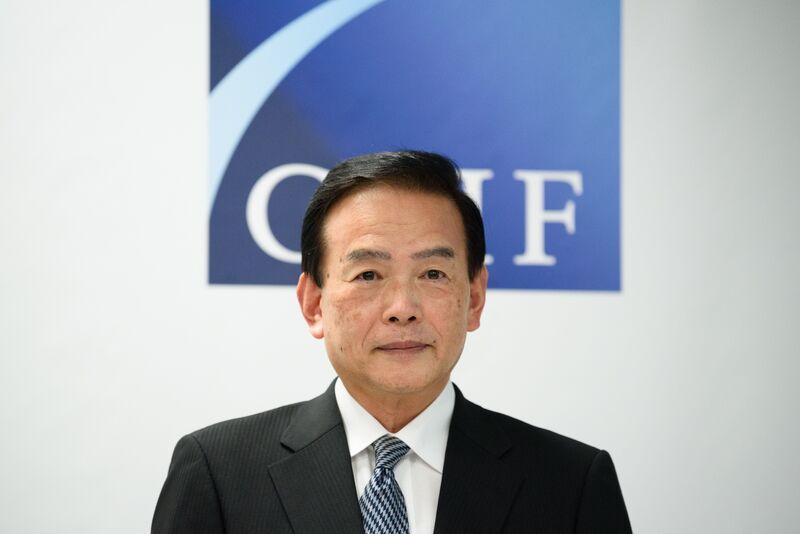 GPIF President Masataka Miyazono News Conference As World's Largest Pension Fund Takes Record $165Billion Hit