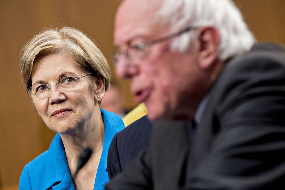 """Warren says she's """"with Bernie"""" on Medicare for All …butis she?"""