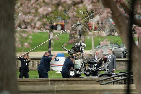 The Landing of a Gyrocopter
