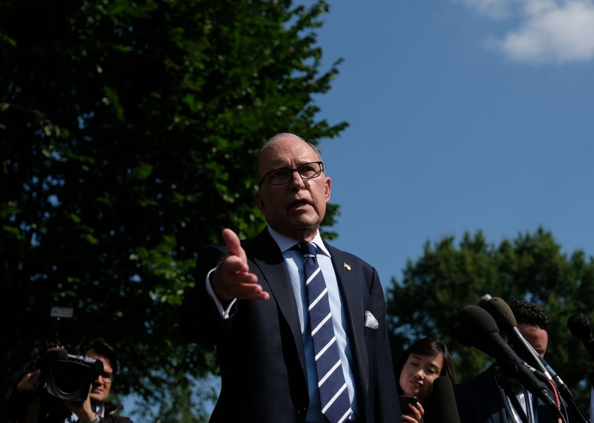 Fannie and Freddie Surge as Release Plan Hits Kudlow's Desk