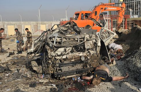 Nine Foreign Civilians Among 12 Killed in Kabul Bus Bombing