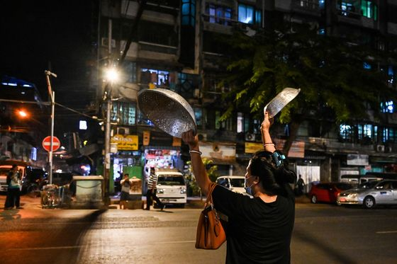 Myanmar Blocks Facebook as Post-Coup Protests Gain Traction