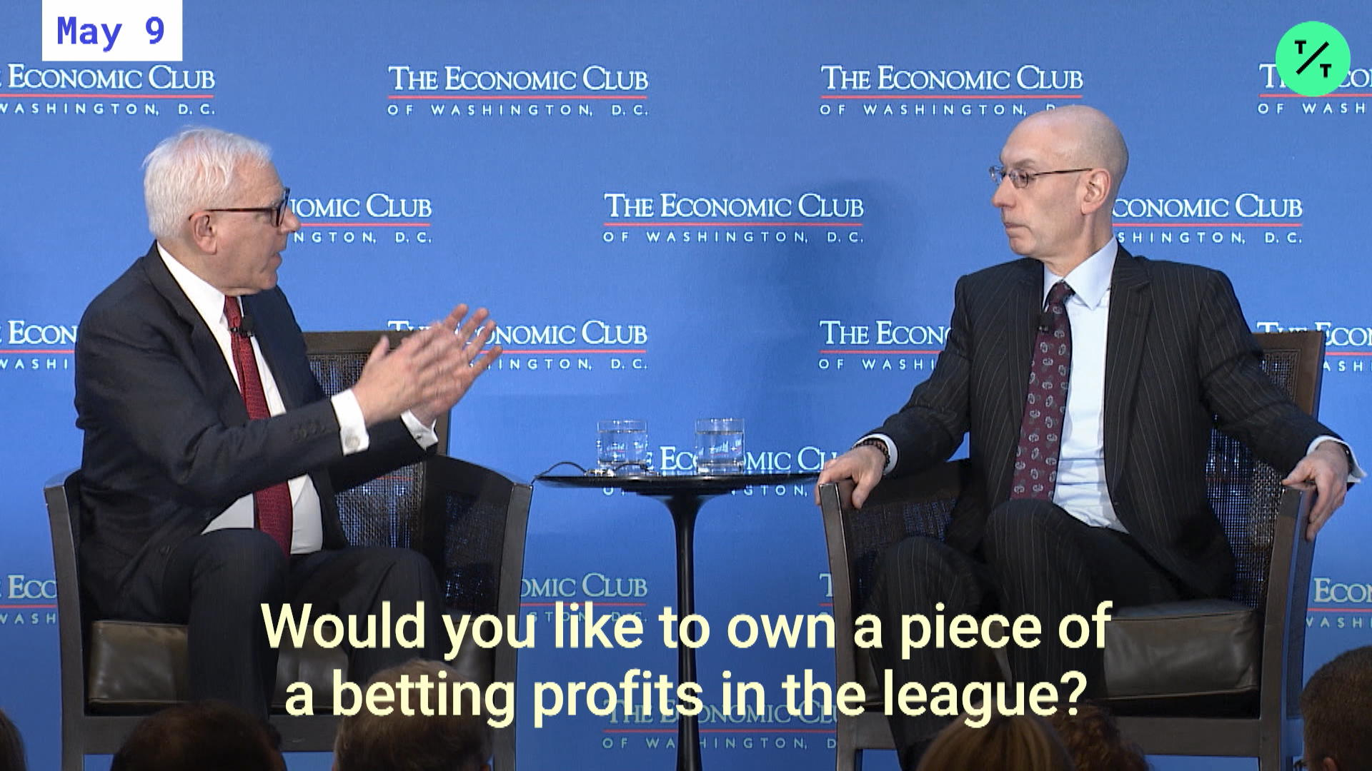 Adam Silver on Sports Betting