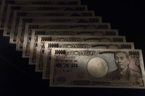 Yen Falls to Eight-Month Low as Stock Gains Boost Risk Appetite