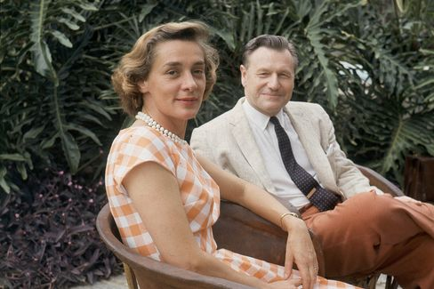 "Nelson Rockefeller and his wife Magaretta ""Happy"" Rockefeller."