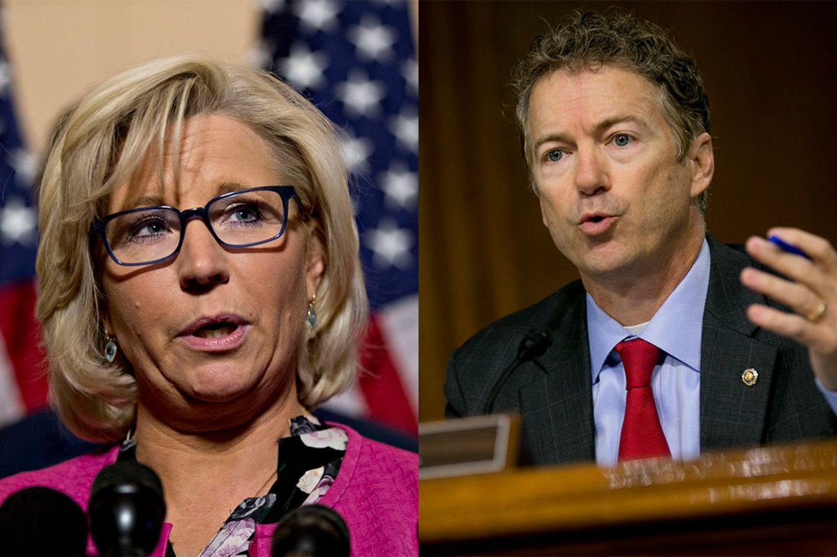 Liz Cheney, Rand Paul Spar on Trump Foreign Policy Post-Bolton
