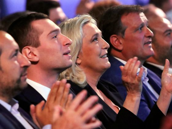 Extreme Views on Race Still Cling to French CandidateMarine Le Pen