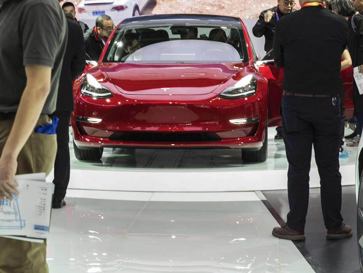 Tesla Steals the Limelight at Beijing Car Show