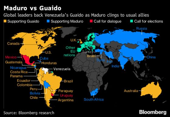EU Nations May Recognize Guaido as Venezuela Leader Amid Split