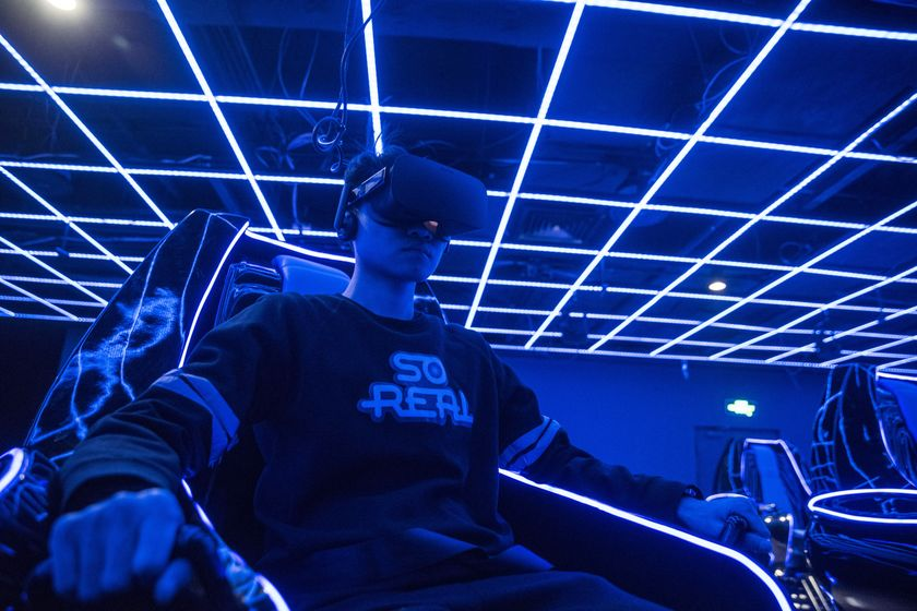 Inside The SoReal Virtual Reality Theme Park