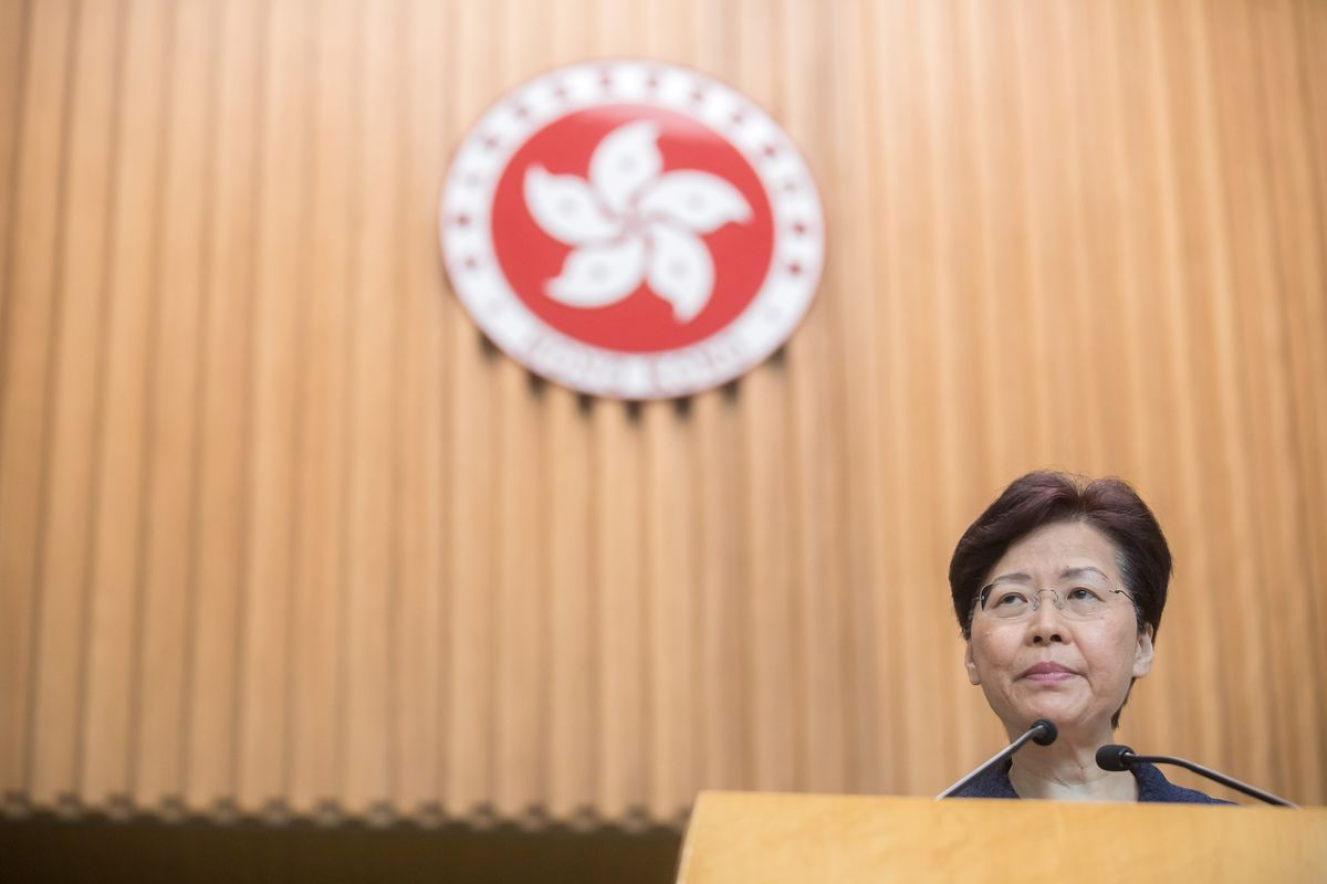 Hong Kong's Lam Meets Ex-Officials, Pleads for End to Deadlock