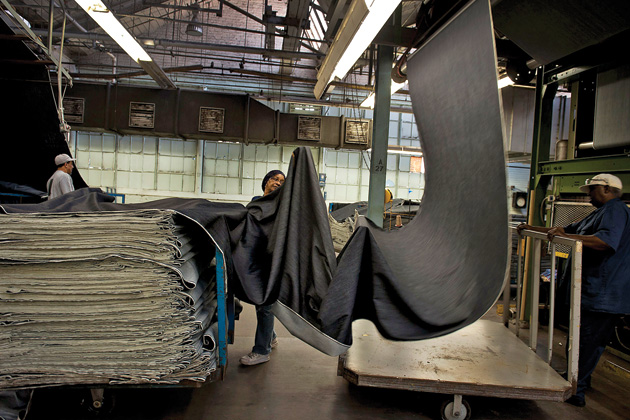 Cone Denimu0026#39;s Old Factory Is Back in Fashion - Bloomberg