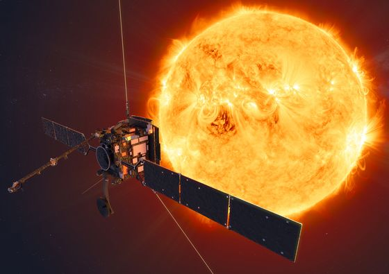 The Biggest Threat to Space Commerce Is the Sun