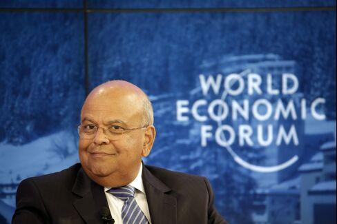 Finance Minister Pravin Gordhan