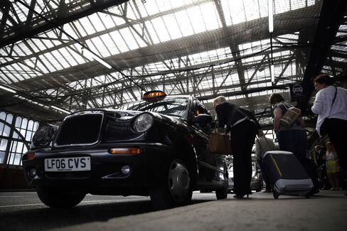 London's Famous Black Cabs