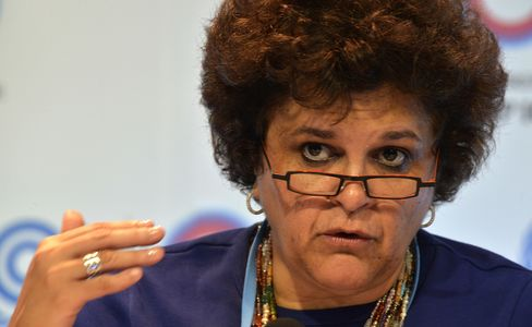 Brazil's Environment Minister Izabella Teixeira