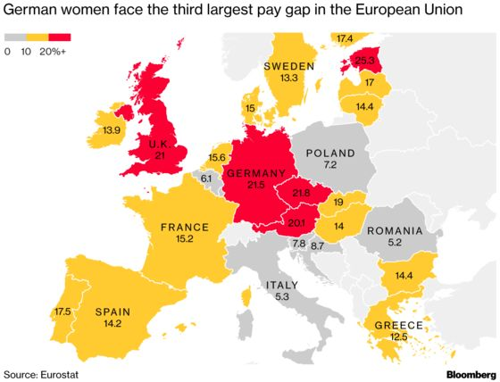 Germany's Big Pay-Gap Problem