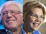Bernie Sanders andElizabeth Warren
